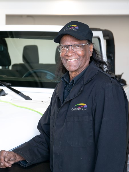Jimmy Lot Attendant at Company of Cars